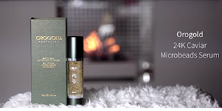 OROGOLD Caviar Collection review by YouTuber Amena