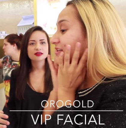 Reviewing the OROGOLD VIP Facial – Vanessa Acosta