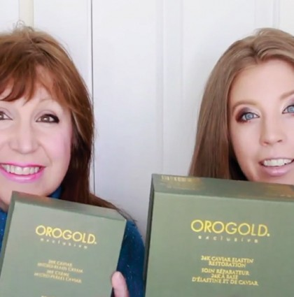 Mother's Day Special: OROGOLD 24K Caviar Collection with Niki Crow and Her Mom