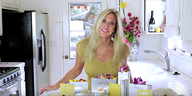 Rebecca Brand Presents Recipes for Great Skin with OROGOLD Cosmetics